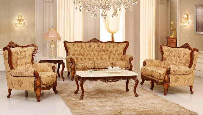 Ruang Tamua Victorian Klasik