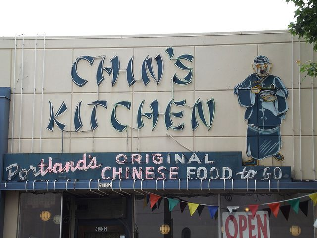 Chin S Kitchen Chinatown Chin Vintage Signs