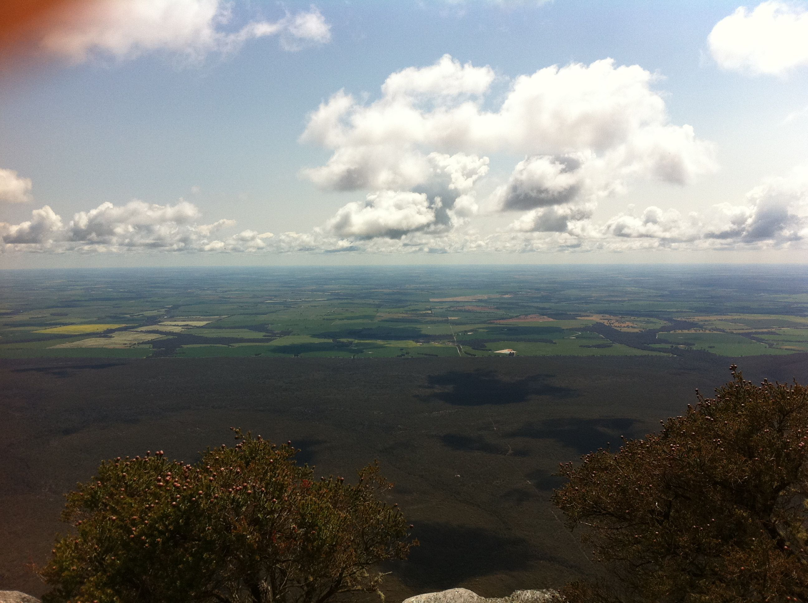 At the top of Bluff Knoll.