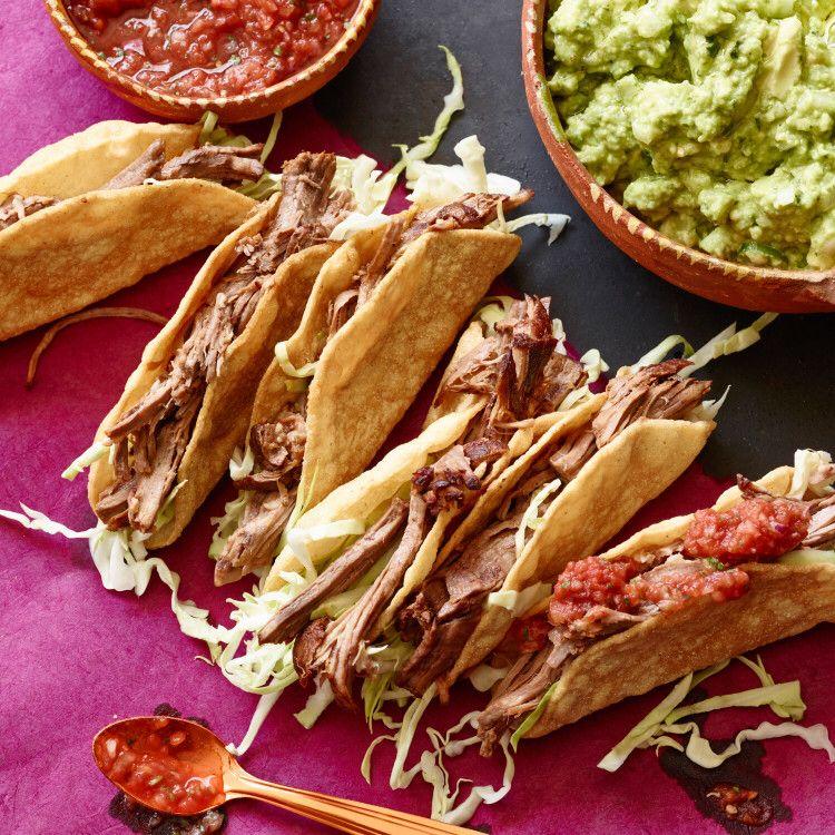 Mexican pot roast tacos recipe food network recipes