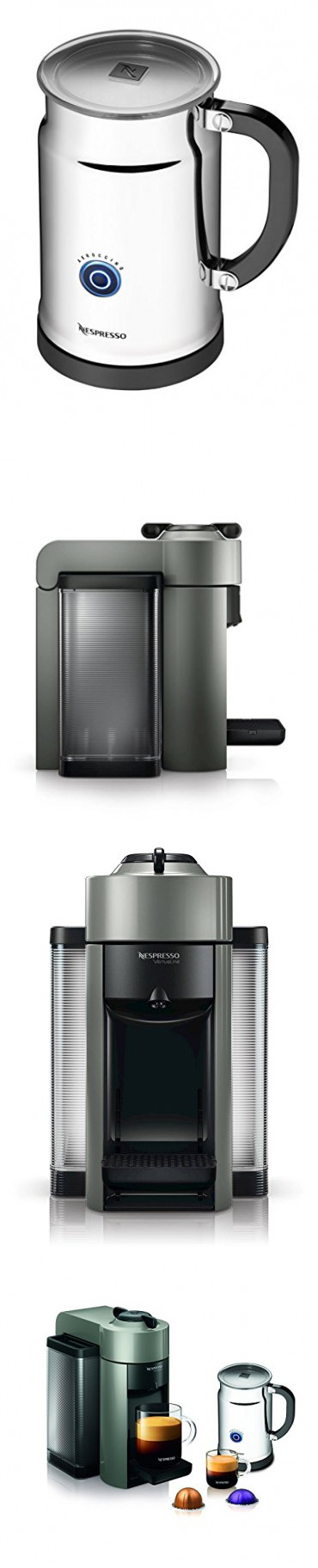 Automatic Off Mode System Coffee & Espresso Maker in Grey