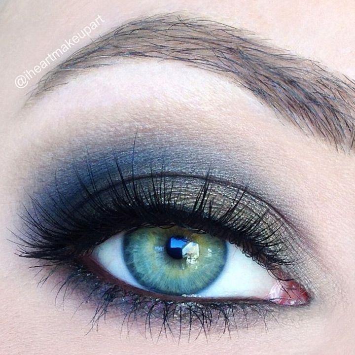 8 gorgeous smokey eye makeup ideas mon cheri prom for Smokey eyes blau