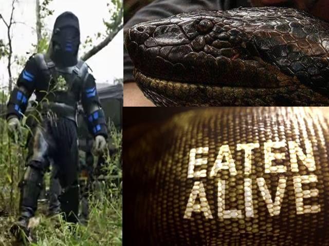 """ช่อง Discovery Channel ยืนยัน!! ไม่เลื่อนฉาย สารคดี """"Eaten Alive งูยักษ์เขมือบคนเป็น"""" แม้องค์กรคุ้มครองสัตว์ล่ารายชื่อขัดขวางการออกอากาศ เนื่องจากอันตรายและคุกคามต่อชีวิตสัตว์"""