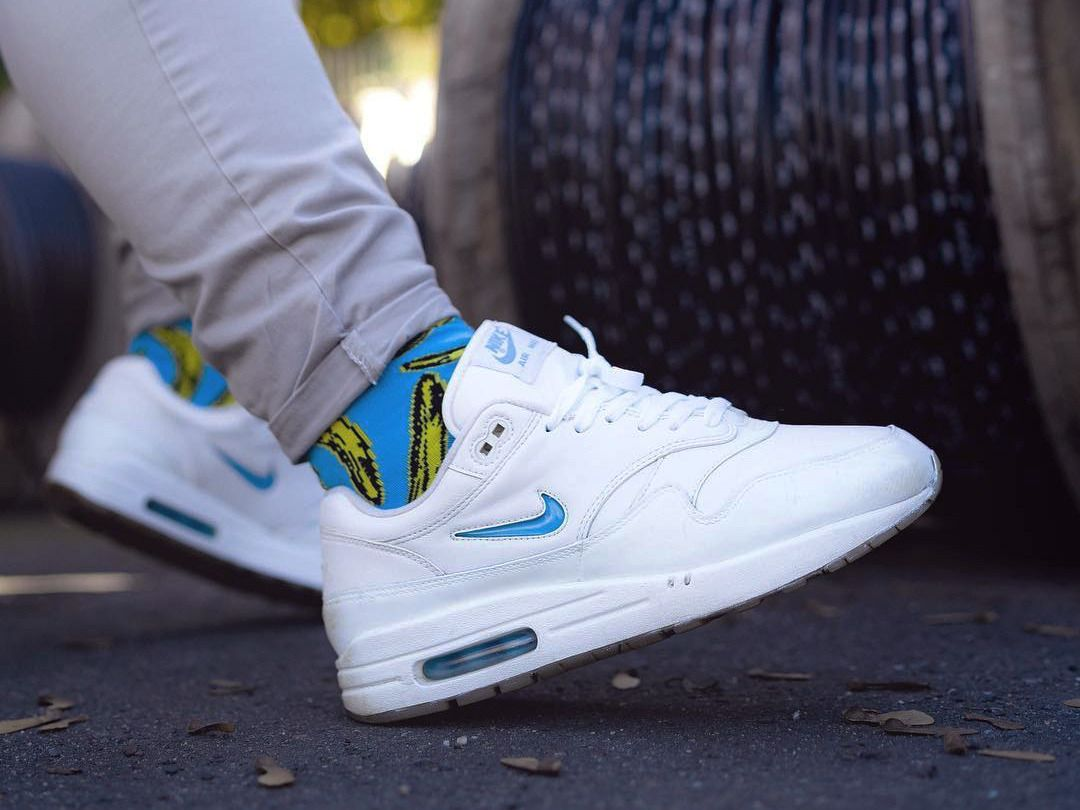 Nike Air Max 1 Jewel Carolina Blue Custom (by max.loewe
