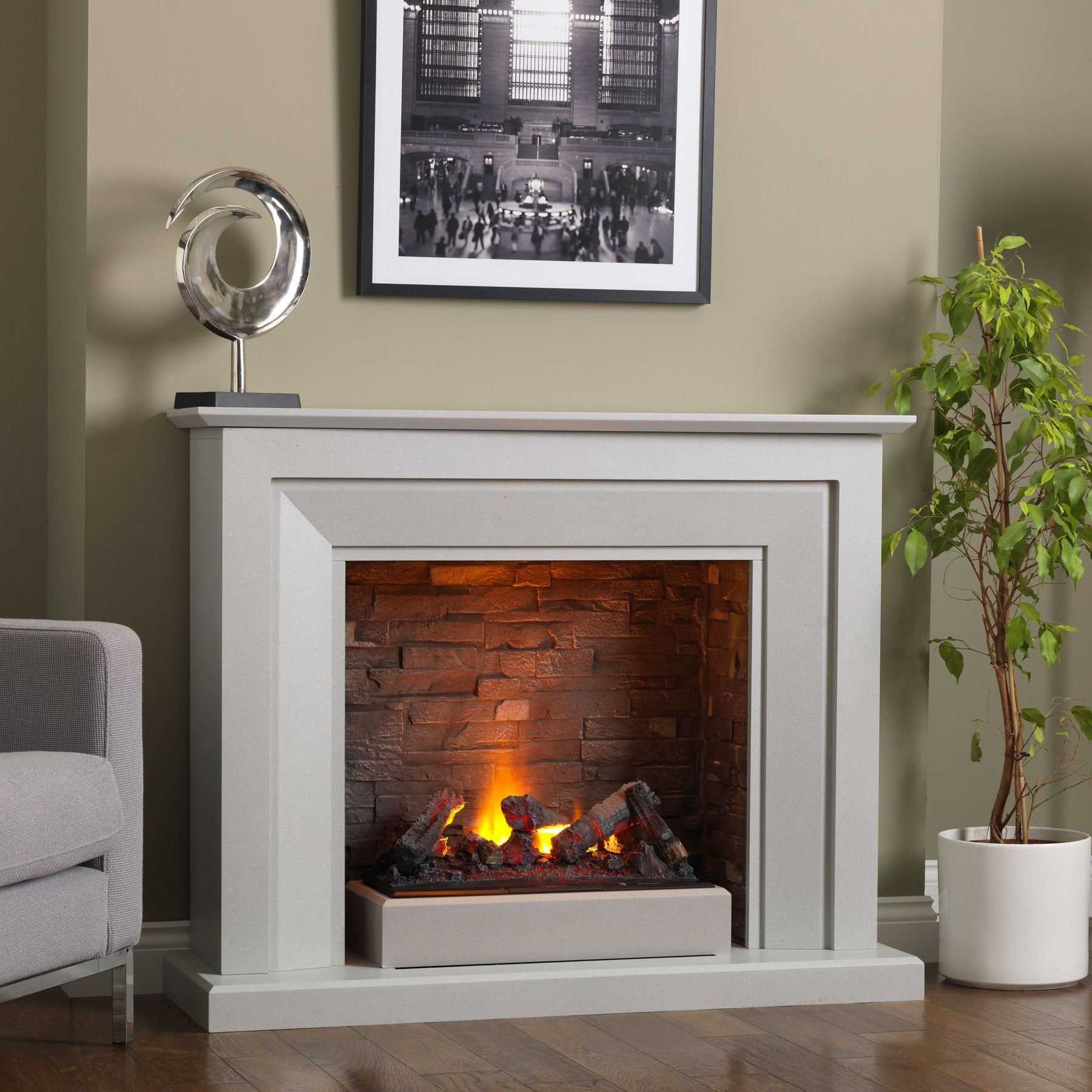 venice electric fireplace suite products wish list pinterest