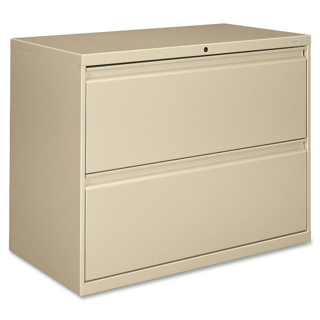Brigade 800 Series Lateral File Cabinet 2 Drawer 36 W Filing Cabinet Lateral File Cabinet