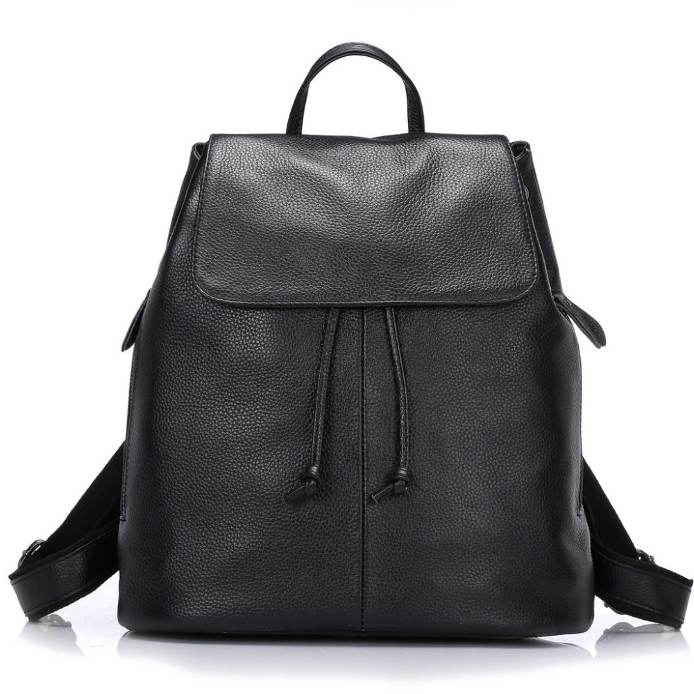 a5c4239c82c420 ZENCY Backpack Bags Famous Brands Genuine Cow Leather Bags Backpack Soft  Natural Top Layer Cowhide Women's Backpack Bag