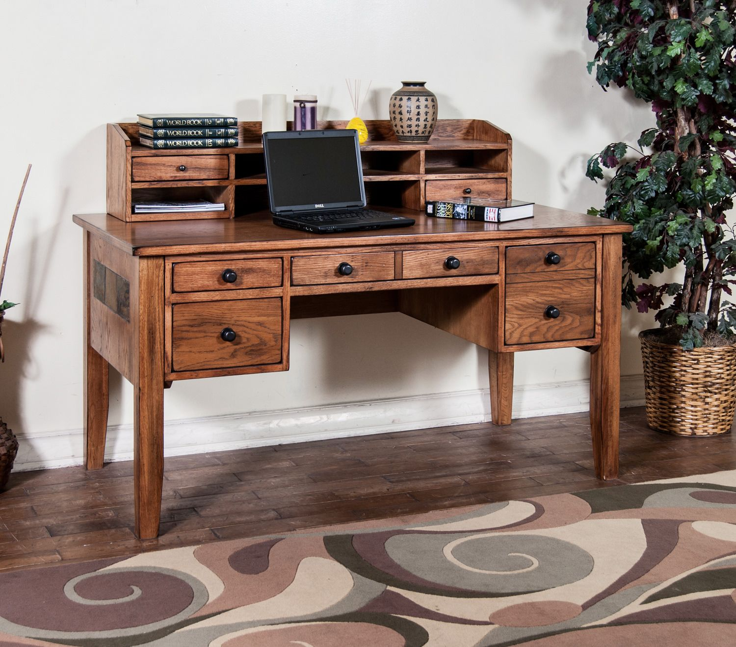 Sedona Laptop Desk (without Hutch) | HOM Furniture | Furniture Stores In Minneapolis  Minnesota