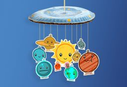 easy solar system craft printable - photo #40