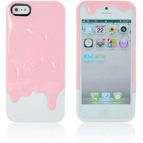 New Hot 3D Melt Ice Cream Hard Gel Case Cover Skin for Apple iPhone 5 4G 4S 5S | eBay
