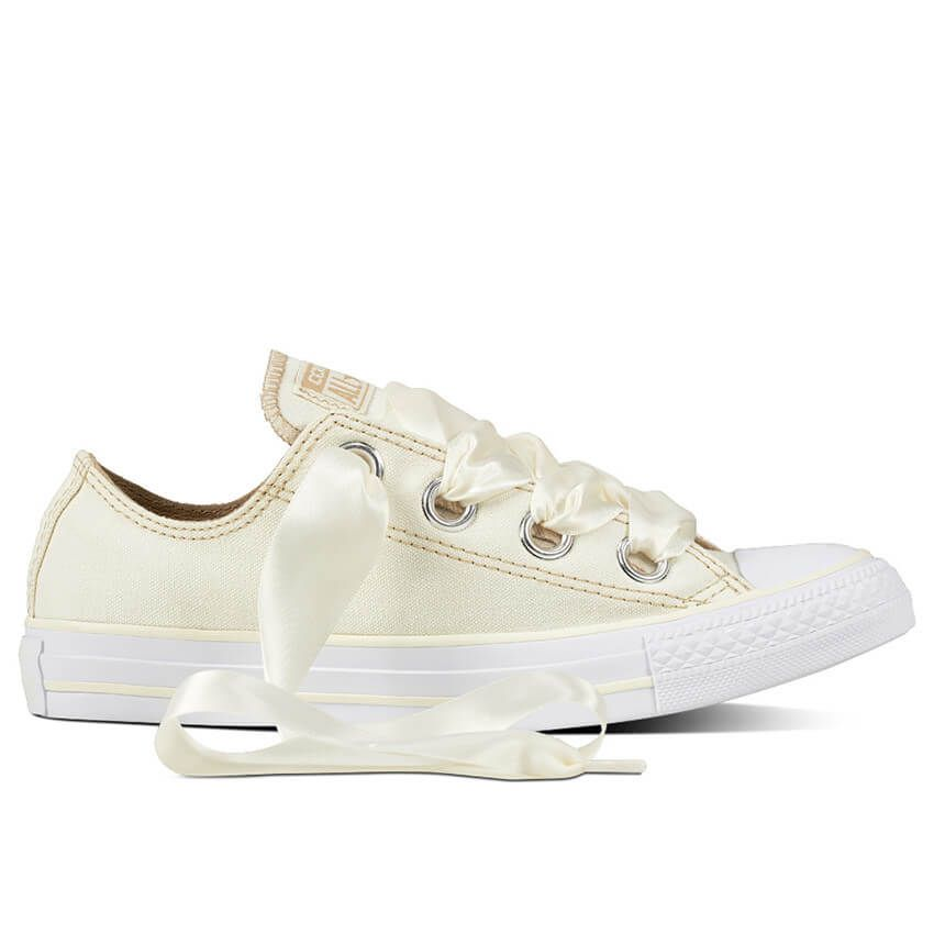 44b4a4bc751b Converse Chuck Taylor All Star Shoes CTAS Big Eyelets OX in Egret 559919C