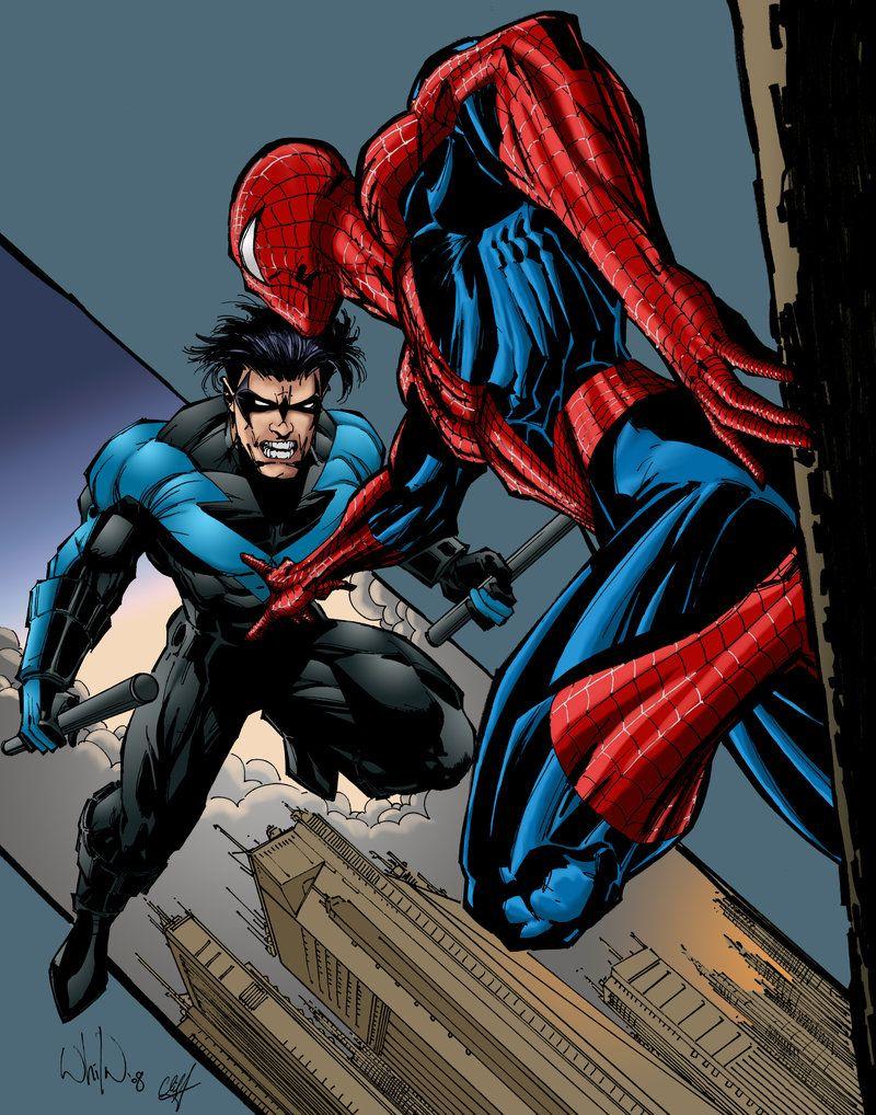 Batgirl Vs Spiderman