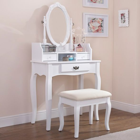 119.99. Lumberton Dressing Table with Mirror & Stool. JTF | Gift ...