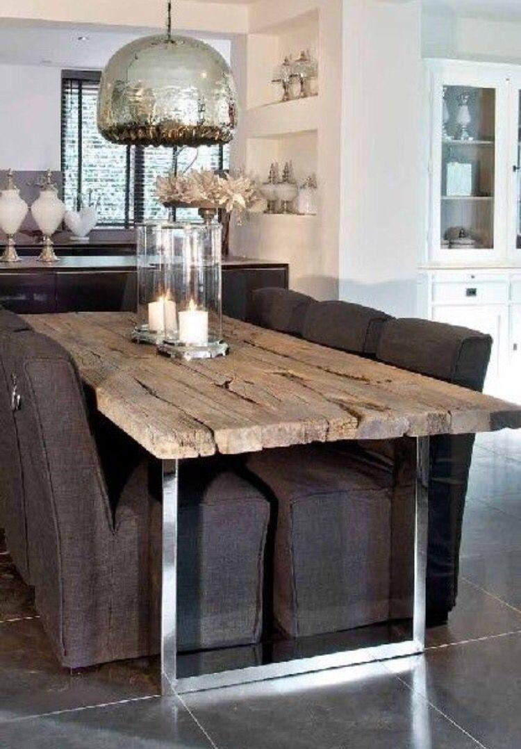 Tavoli Da Cucina Rustici.Tavolo Ideas For The House Nel 2019 Sale Da Pranzo Casa