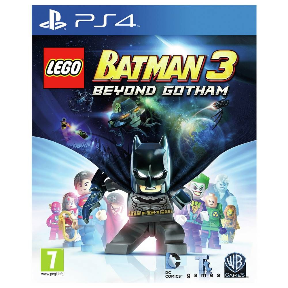 Buy Lego Batman 3 Ps4 Game Ps4 Games Lego Batman 3 Lego