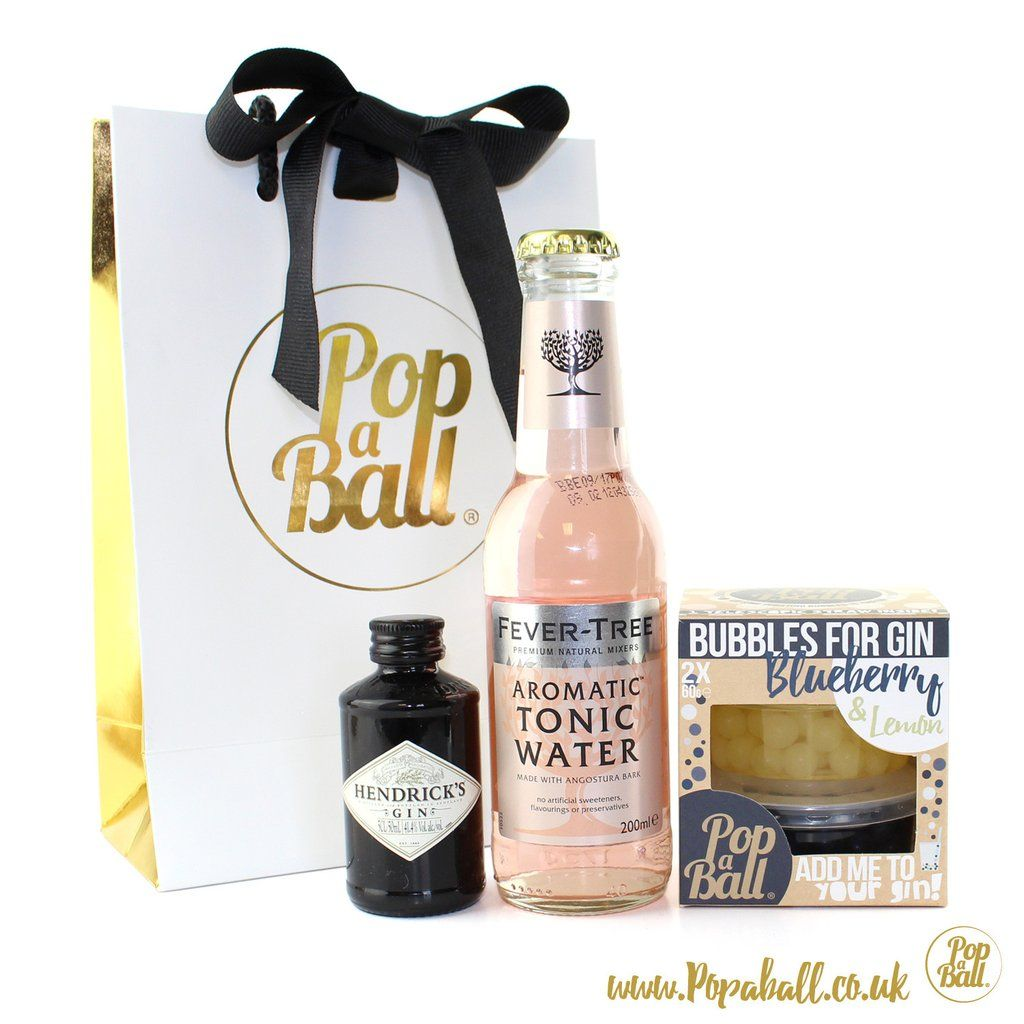 Bombay Sapphire Gin And Tonic With Bubbles For Gin Gift Set The