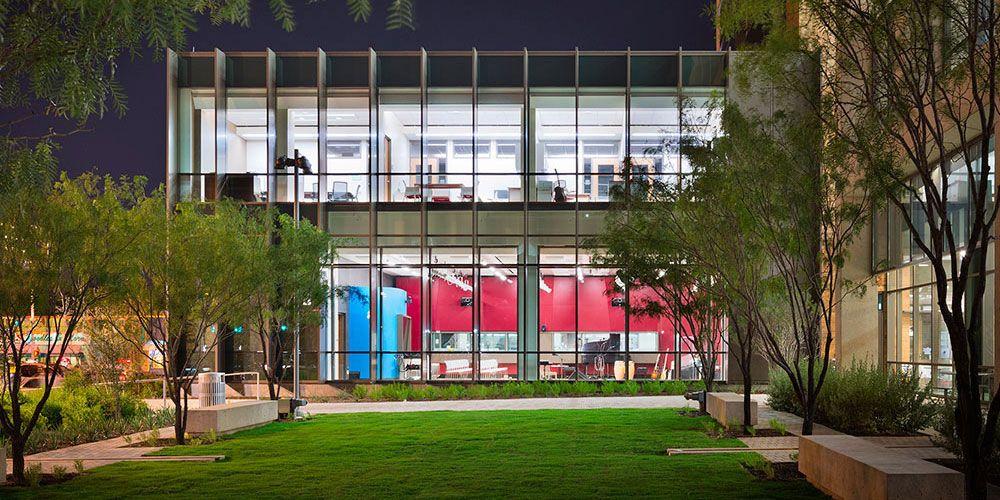 Kut public media studios austin tx lawrence group - Interior design schools in texas ...