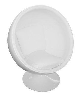 White+ball+chair+by+Oxygen+on+secretsales.com