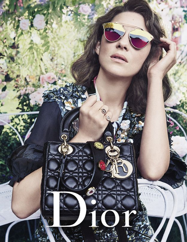 2f0fdadb0e18b Marion Cotillard s New Dior Campaign Is What Dreams Are Made Of via   WhoWhatWear