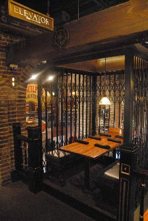 Darryl's Wood Fired Grill: The Elevator Seat