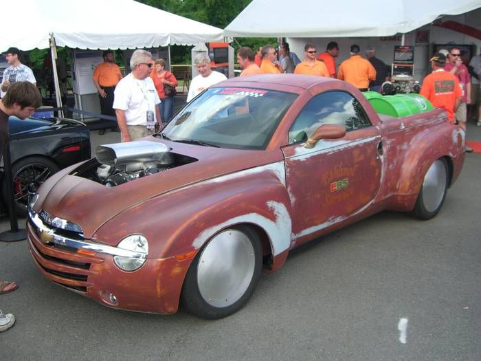 Chevy Ssr Rat Rod Chevy Ssr Rat Rods Truck Rat Rod
