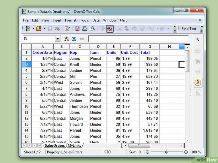 3 Ways to Create a Database from an Excel Spreadsheet - wikiHow - how to create a spreadsheet