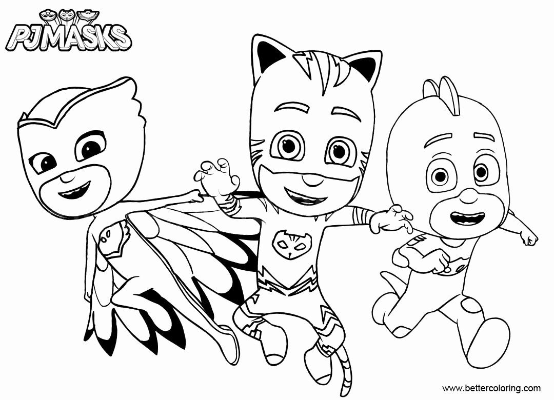 - Pj Mask Coloring Page Luxury Catboy From Pj Masks Coloring Pages
