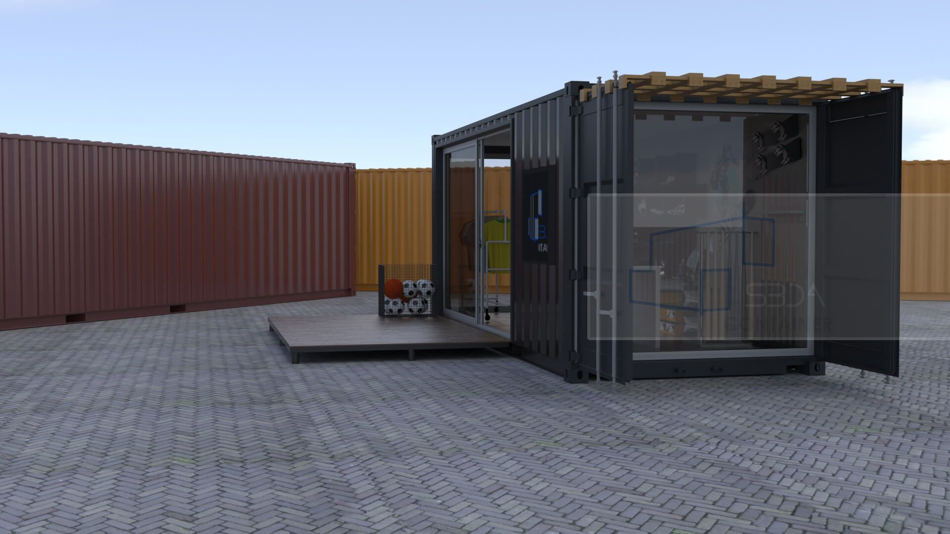 Related image Container shop, Pop up shops, Shop front