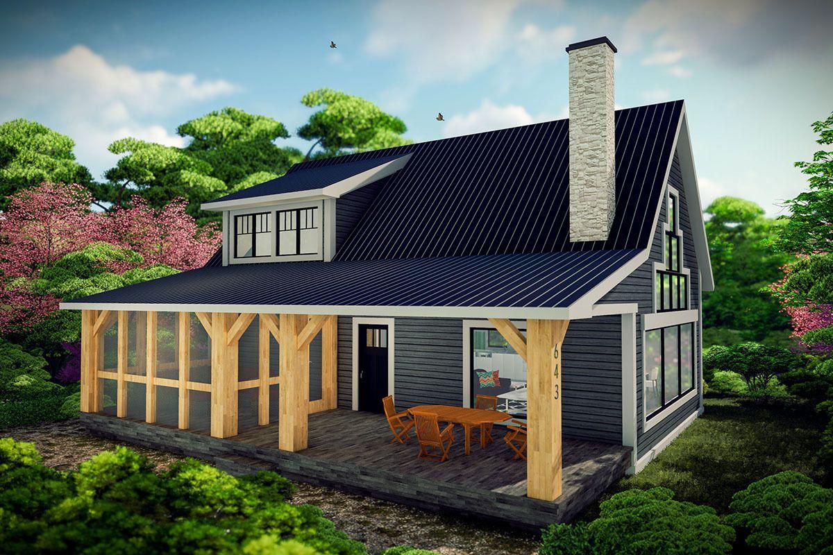 40 Unique Rustic Mountain House Plans With Walkout Basement Basement House Plans Cottage Plan House Plans