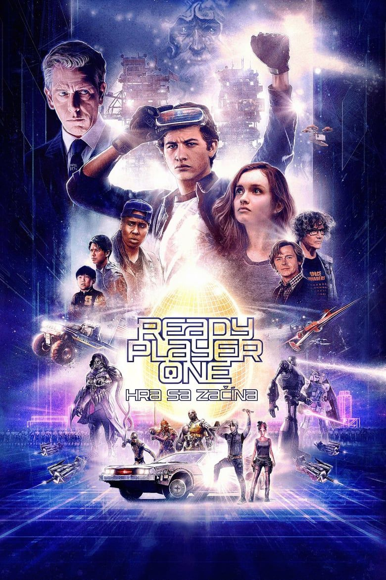 10 9 Ready Player One Chinese Movie Poster 13x20 27x40 32x48 Steven Spielberg Film Ebay Ready Player One Ready Player One Movie Ready Player One Trailer