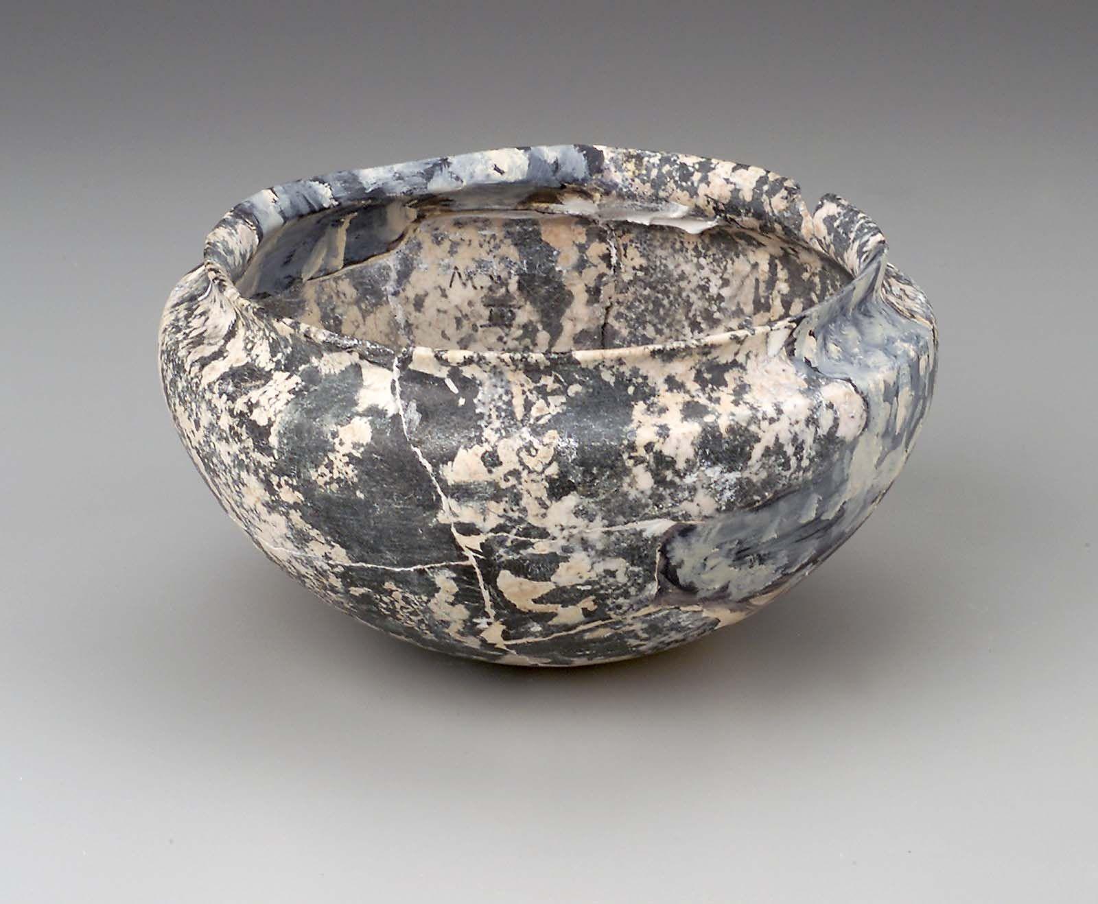 Carinated bowl. Egyptian, Old Kingdom, 4th Dynasty, 2575-2465 B.C.