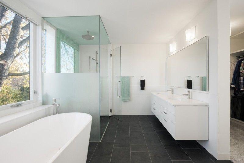 Contemporary Streamline Moderne Home Remodel Streamline moderne