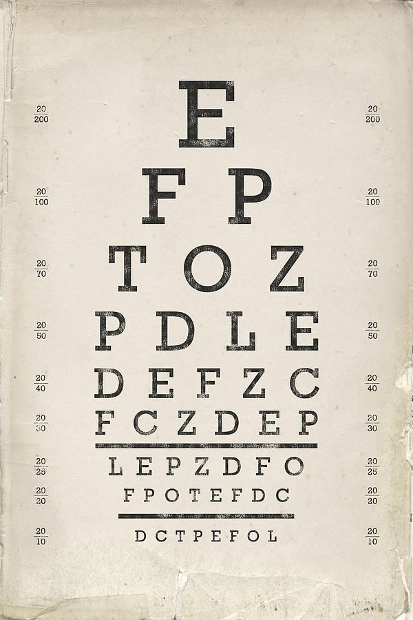 awesome eye chart font dchartwediscover