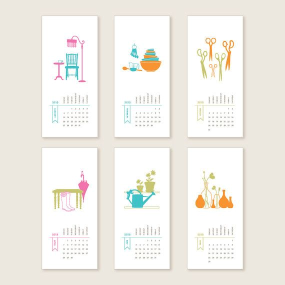 Handmade Calendar Design : Creative calendars you can make or buy
