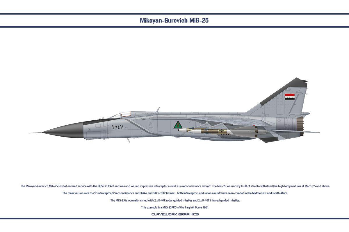 ال Mig-25 Foxbat ضد ال F-14 Tomcat : المواجهات الجويه في الثمانينيات  0cf94322d3830d25615921c63075fa49