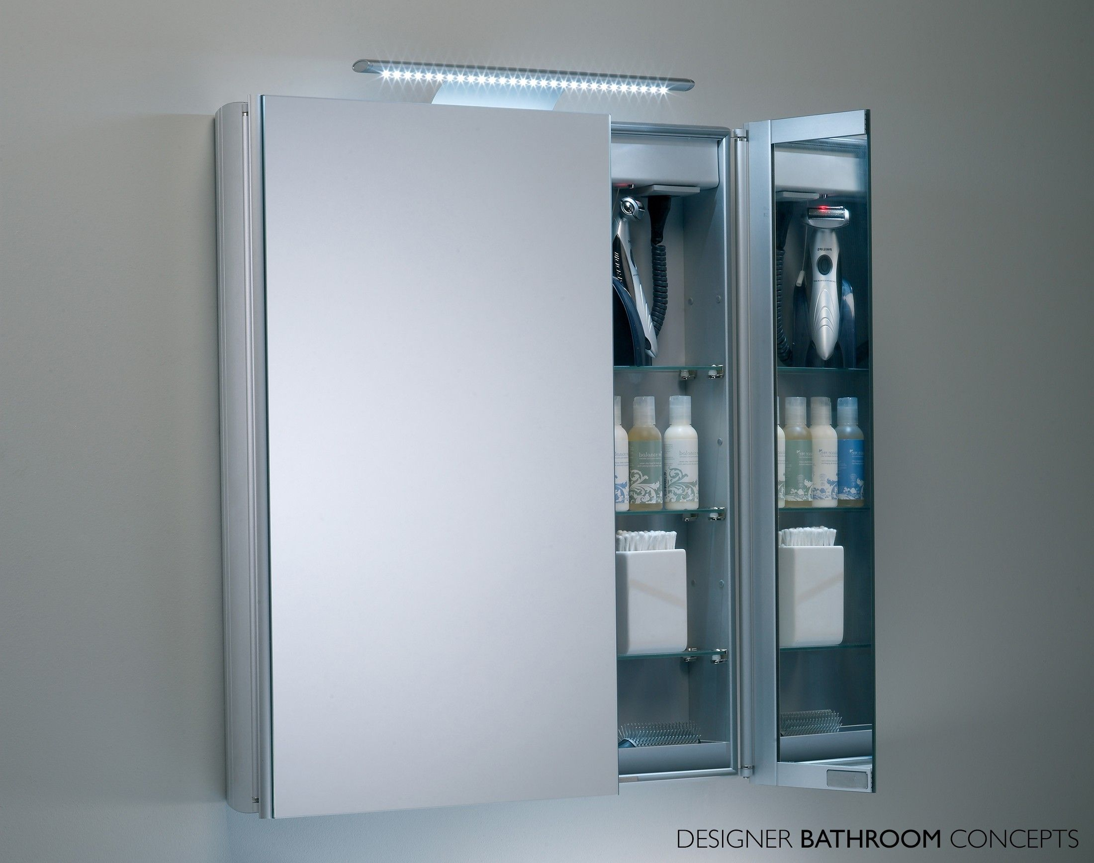 Refine Designer LED Bathroom Cabinet from DesignerBathroomConcepts ...
