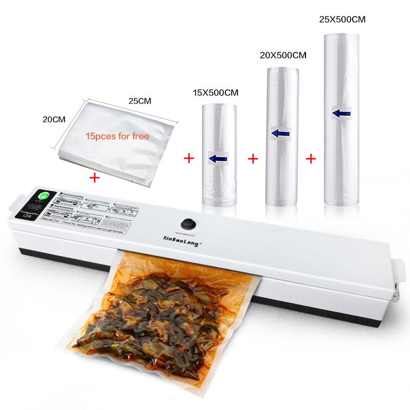 Electric Food Vacuum Sealer Keep Fresh 110w Automatic Sealer