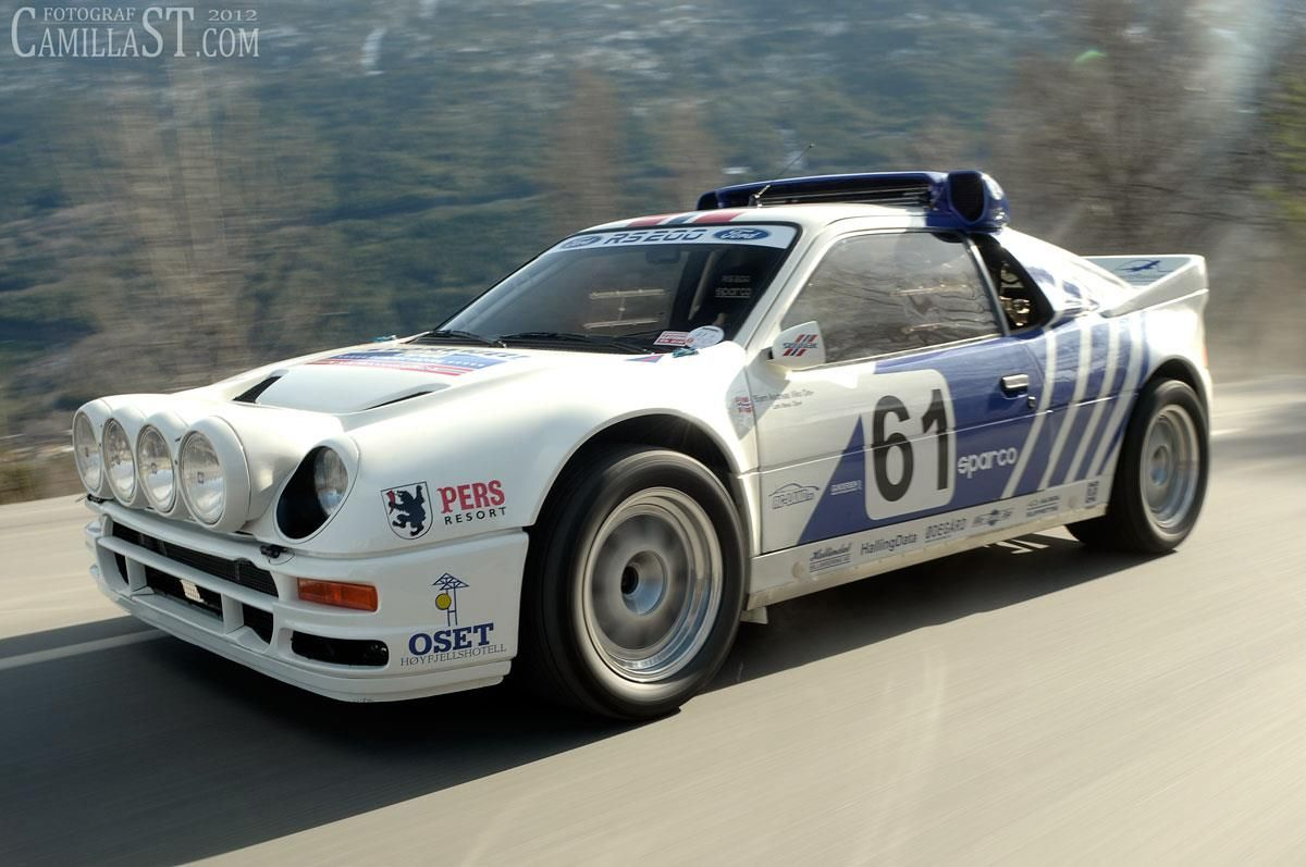 Ford Rs200 Ready For A Race Speed Power Performance Action Vintage Classic Rally 3 Ford Specials Ford Rs Rally Car