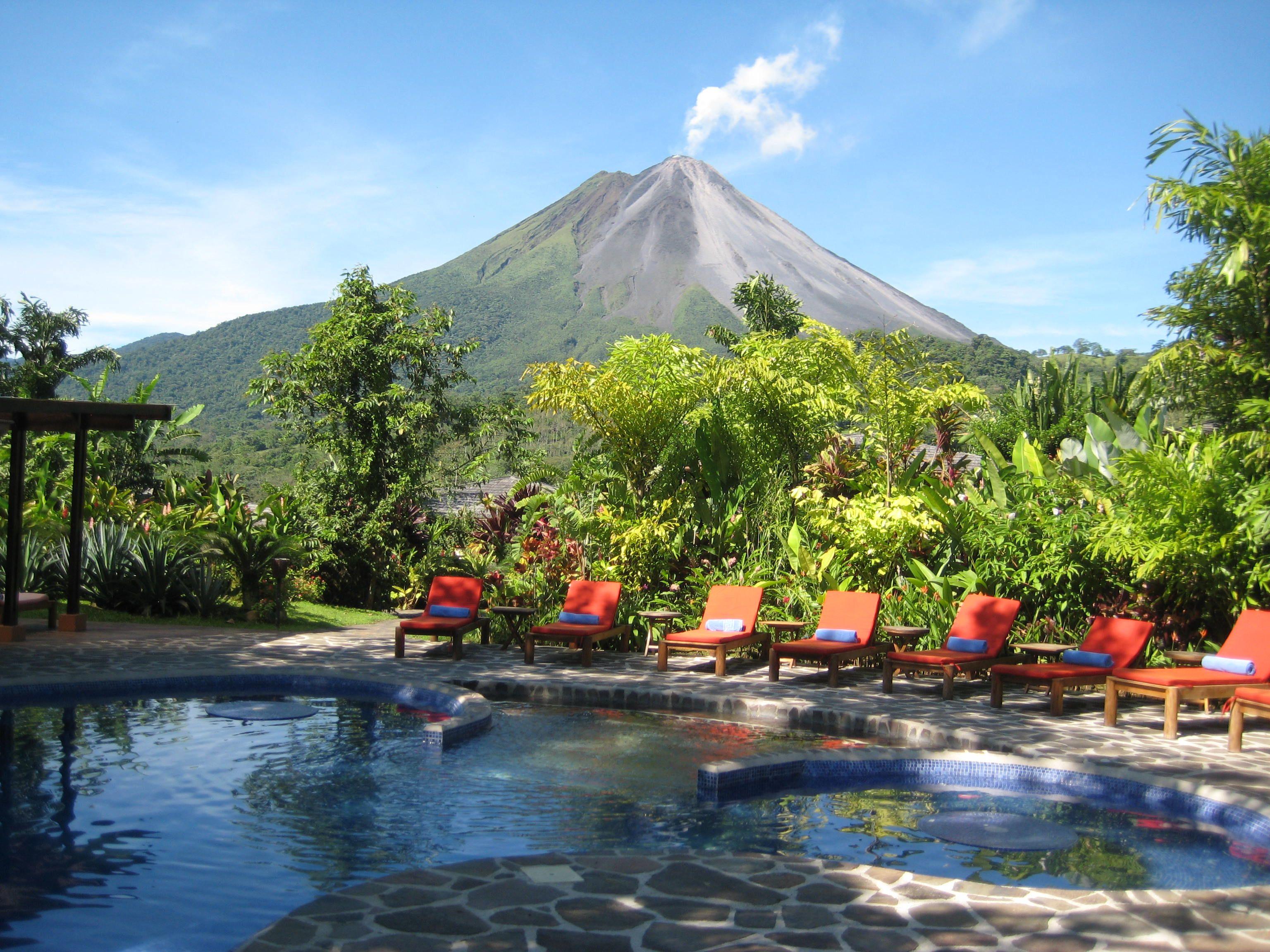 Arenal Volcano From Nayara