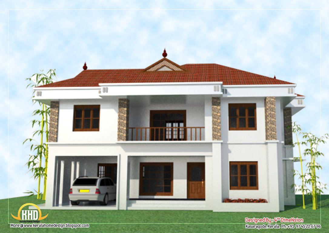 2 Story House Elevation