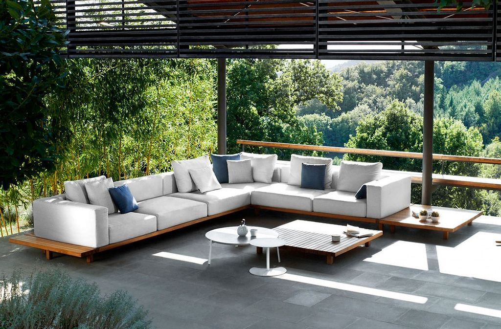 76 Modern Outdoor Living Spaces You Would Like Outdoor Furniture Design Modern Outdoor Furniture Furniture Design Modern #outdoor #living #room #set