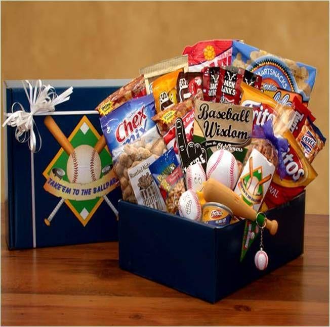 Ballpark Baseball Gift Box