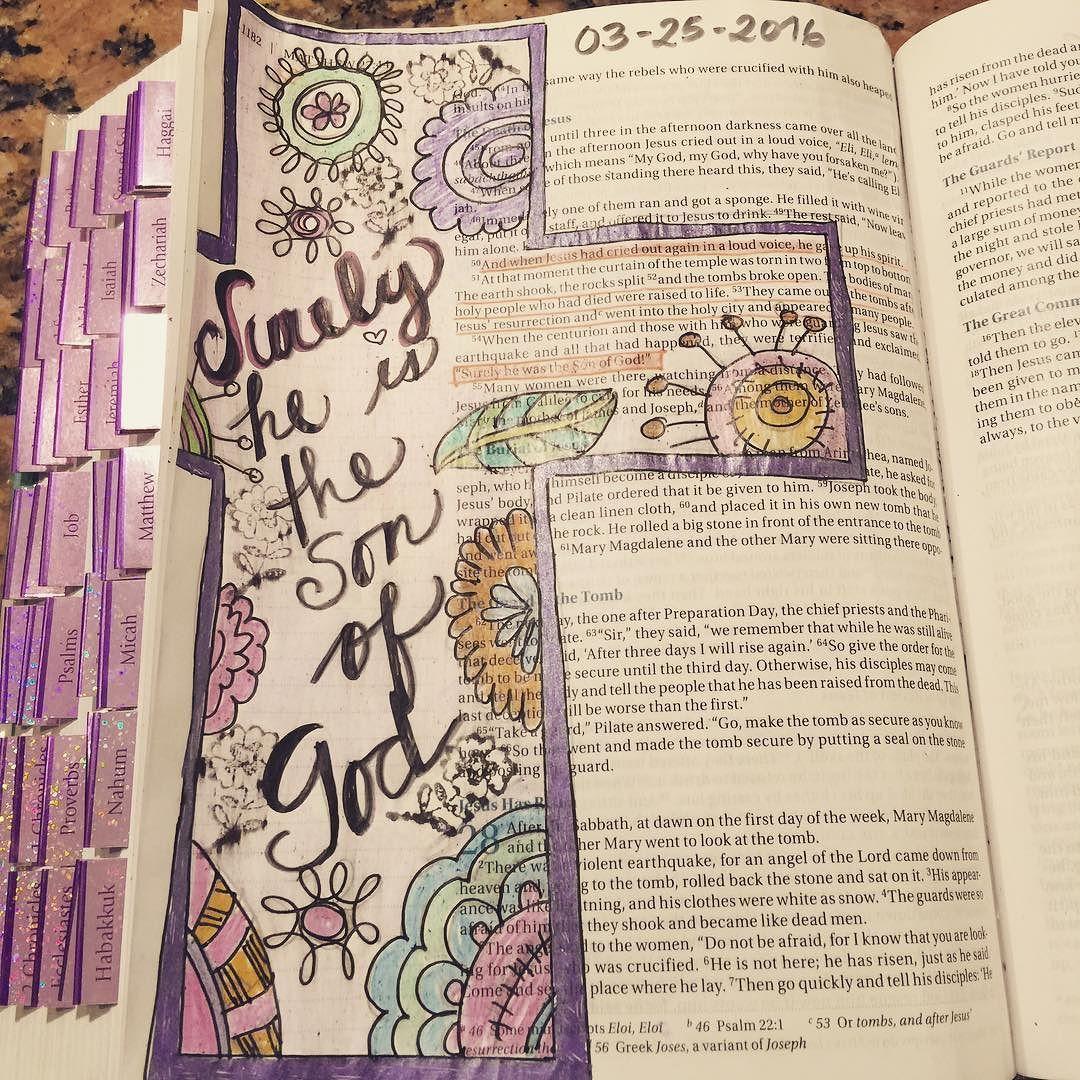 Estoy emocionada haciendo #biblejournaling este es el que hice hoy! #jesusislord #mifeilustrada #mujeresquesobrepasan #enjoytheride by alebeckley
