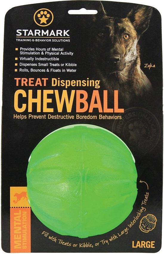 Extremely durable, but soft in your dog's mouth, the Treat