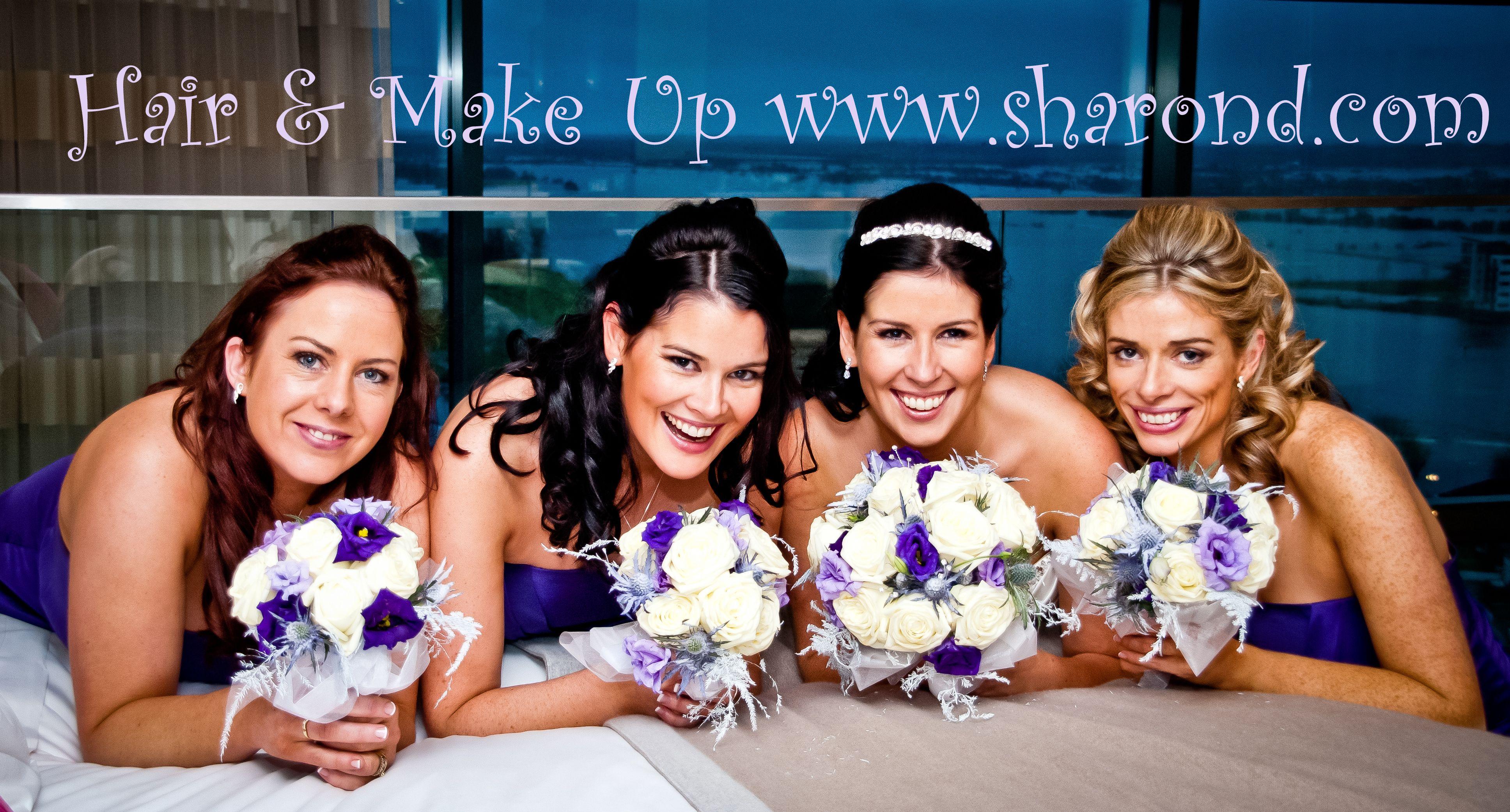 Bridal hair, Make Up & Tans - www.sharond.com photo by hurson.com