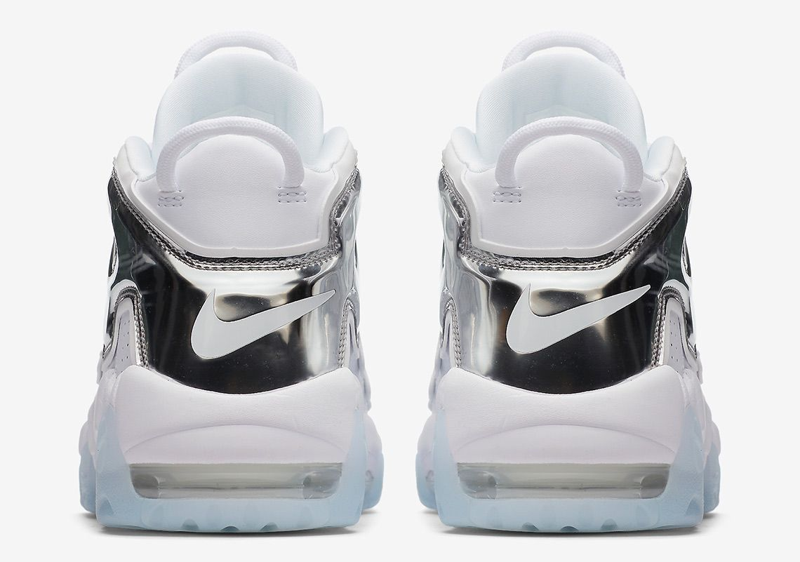 7206fc357cf3 Nike Air More Uptempo White Chrome Blue Tint 917593-100