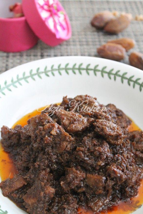 Azie Kitchen Rendang Daging Perak Buat Hidangan Pagi Raya Vegan Junk Food Malay Food Cooking