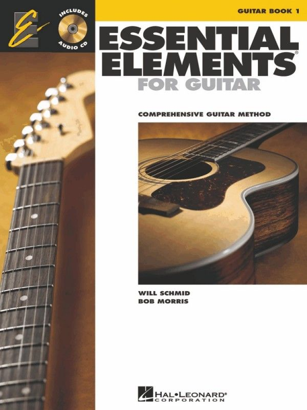 Essential Elements For Guitar 1 Book Guitar Books Guitar Practice Guitar Sheet Music