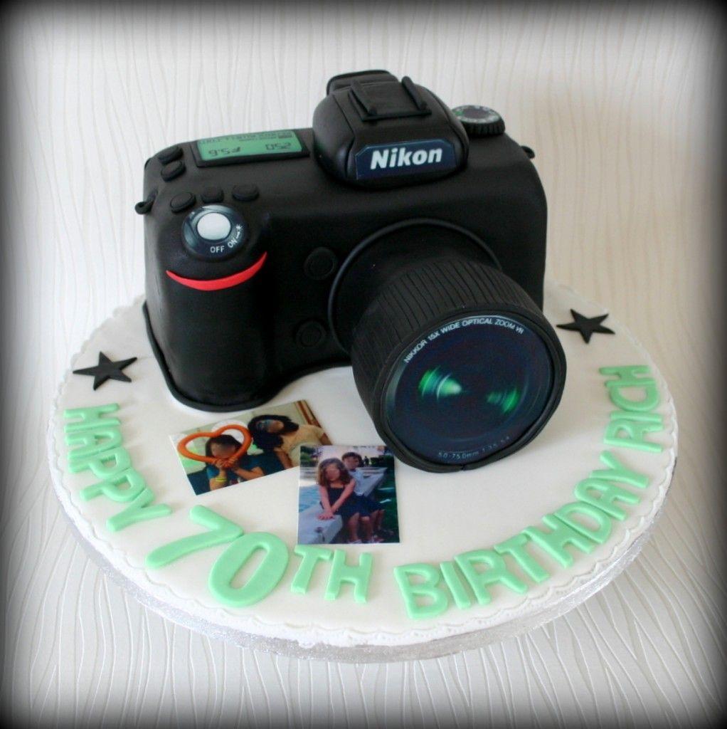 Nikon Camera Cake Images : Nikon Camera Cake www.sweet-nothings.co.uk Cakes ...