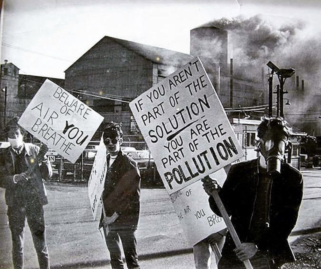 Be The Solution Not The Pollution First Earth Day Earth Day Posters Air Pollution Poster